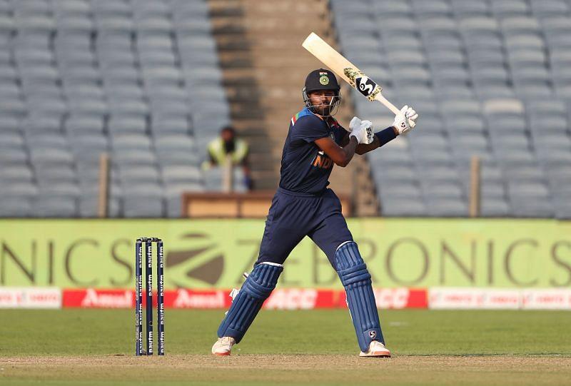 Hardik Pandya smashed 64 runs in the third ODI against England