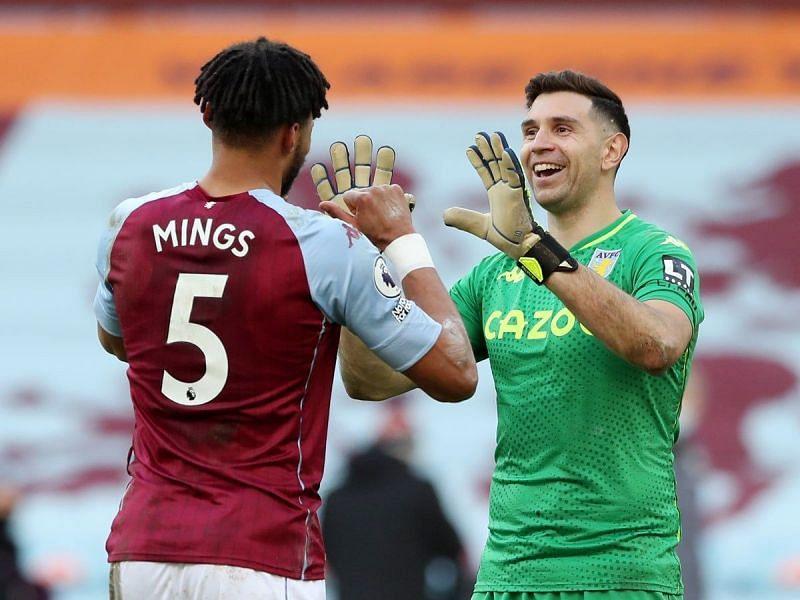 Emi Martinez(right) has been a huge reason for Aston Villa