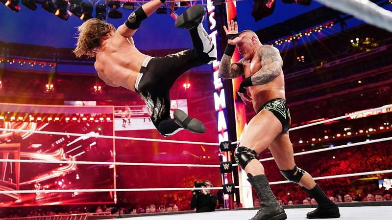 AJ Styles defeated The Viper at WrestleMania 35 inside MetLife Stadium