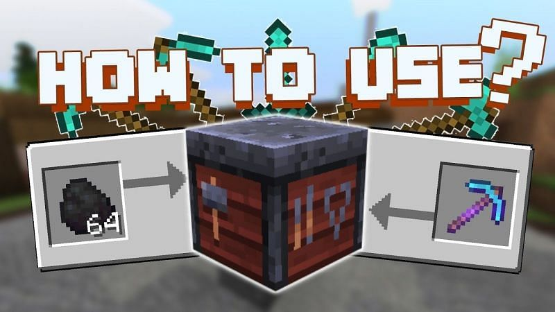 Minecraft smithing table (Image via the cabinet.battery)