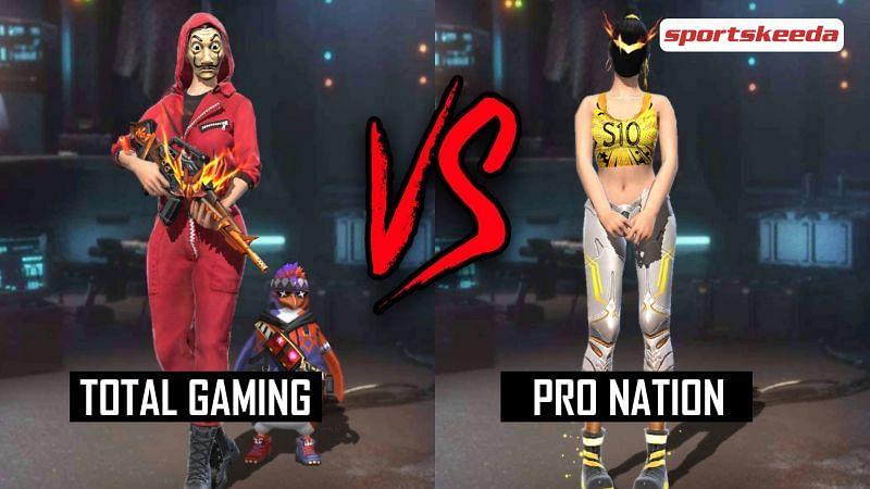 Garena Free Fire: Ajjubhai (Total Gaming) vs PN Harsh (Pro Nation)