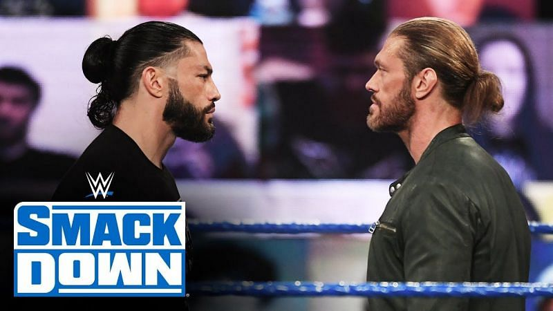 Edge chose to face Roman Reigns after winning the 2021 Men