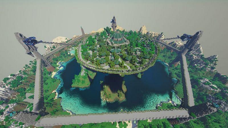 Large jungle build (Image via u/Gelebron on Reddit)