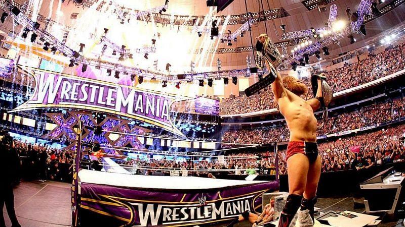 WWE WrestleMania में यादगार चैंपियशिप जीत