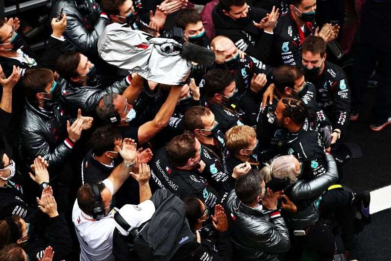 Mercedes have dominated the sport since 2014. Photo: Brynn Allen/Getty Images.