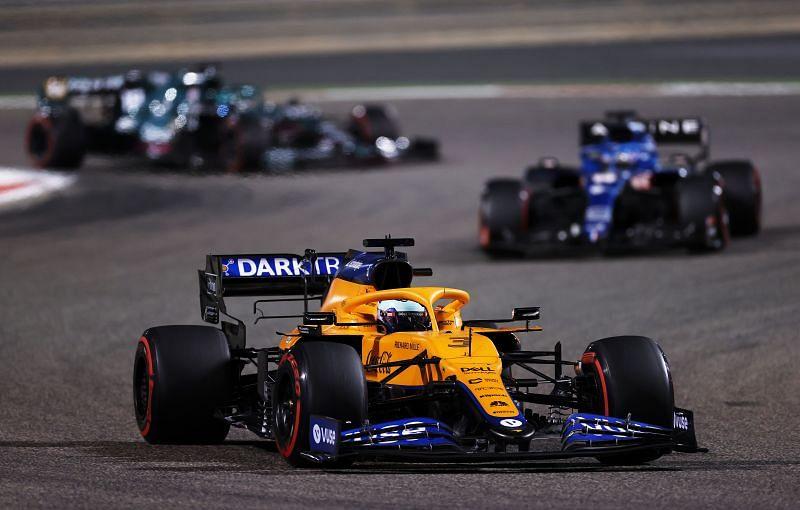 Daniel Ricciardo finished P7 on his McLaren debut. Photo: Lars Baron/Getty Images.