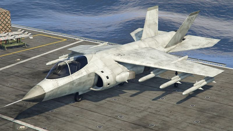 Jets, bombers, and all sorts of other planes can be found in GTA Online (Image via GTA Wiki Fandom)