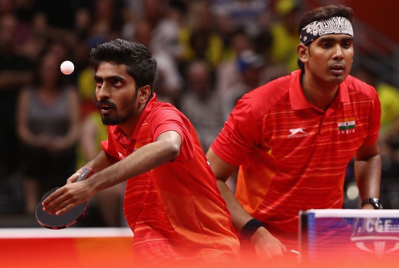 G Sathiyan (left) and Sharath Kamal have made it to the Tokyo Olympics