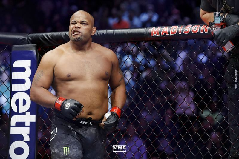 Former UFC Heavyweight champion Daniel Cormier