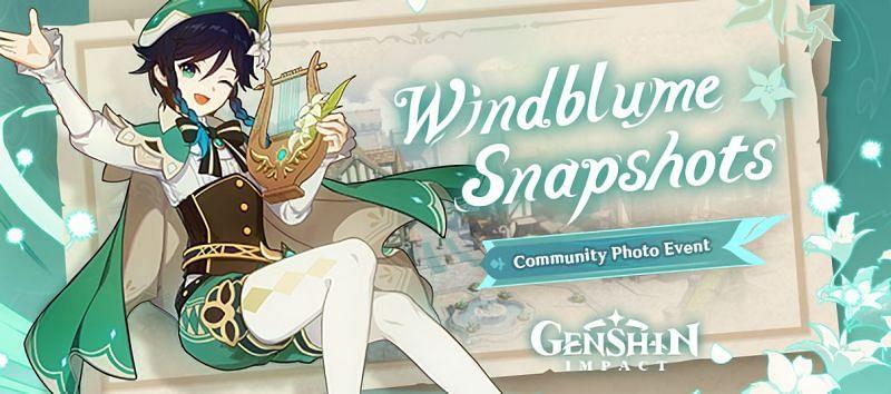 The Windblume Snapshots event (Image via miHoYo)