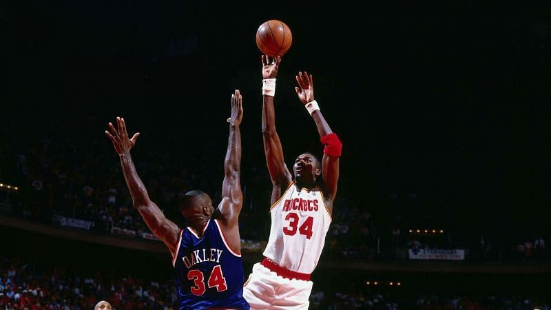 Olajuwon in the 1994 NBA Finals.