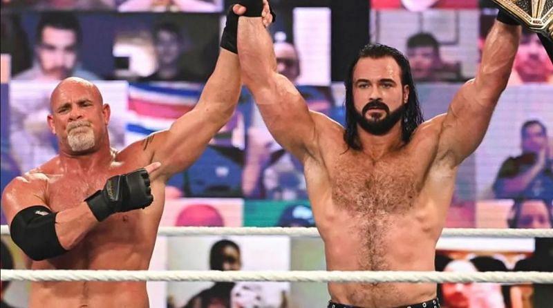Goldberg vs. Drew McIntyre at Royal Rumble