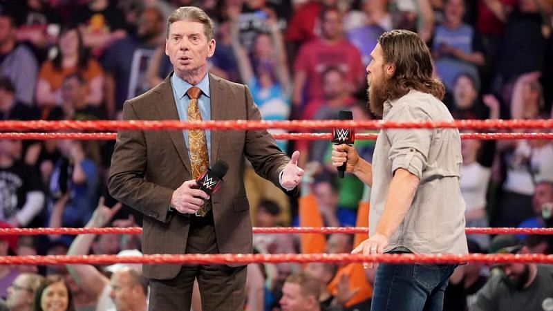 Vince McMahon and Daniel Bryan