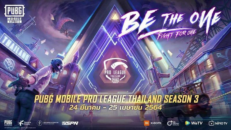 The PUBG Mobile Pro League Season 3 Thailand kicks off next week