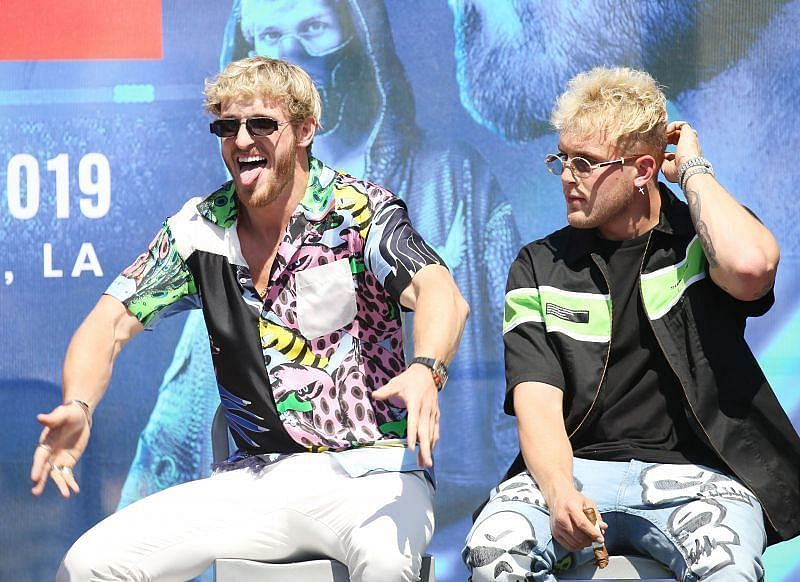 Logan Paul with his Brother Jake Paul