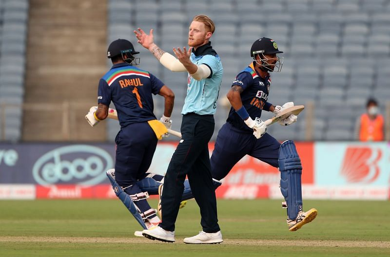 Krunal Pandya and KL Rahul plundered 67 runs off the last five overs