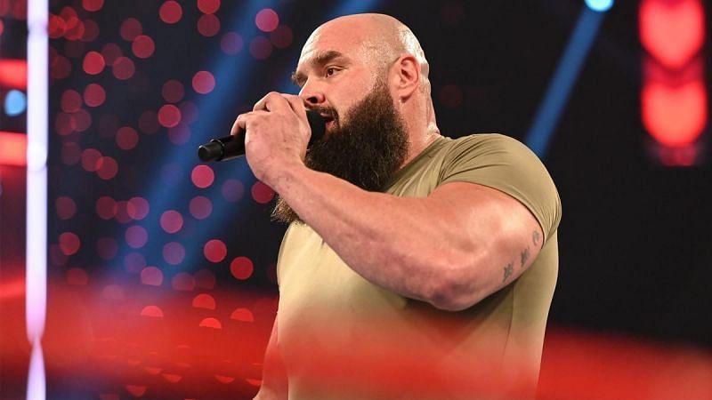 Braun Strowman on RAW
