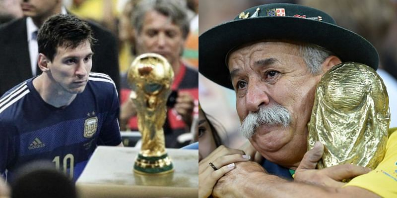 The 2014 World Cup produced some of the saddest footballing images of all time