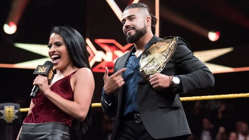 Zelina Vega and Andrade in NXT