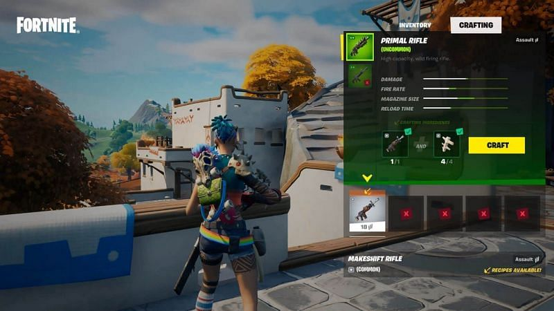 Crafting in Fortnite makes absolutely no sense (Image via Epic Games/Fortnite)