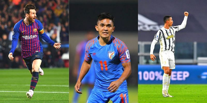 Sunil Chhetri is one of the greatest international footballers of all time
