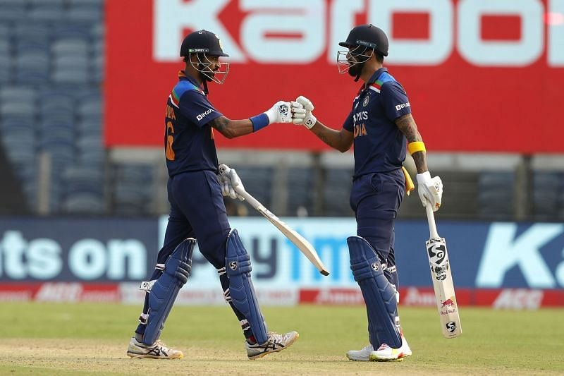 The duo helped India register a competitive total