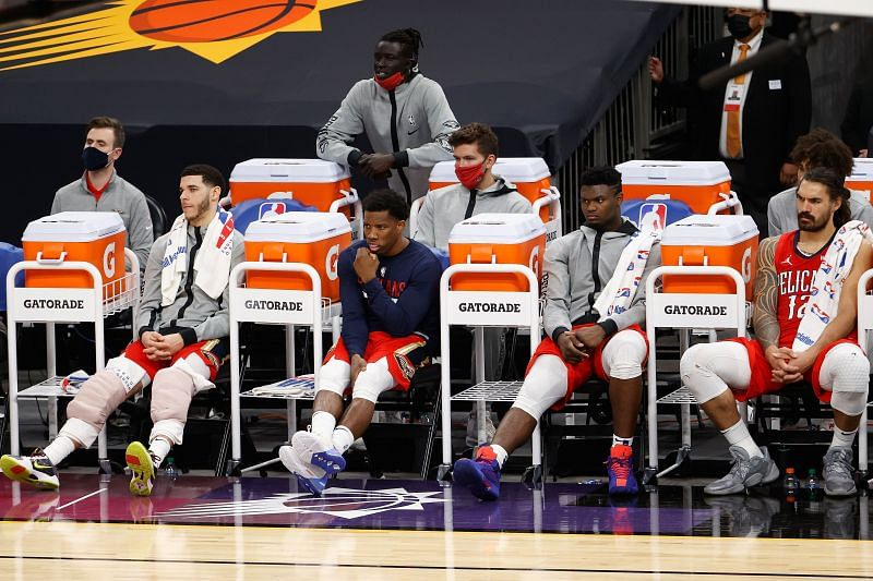 The New Orleans Pelicans might move on Lonzo Ball and Eric Bledsoe.