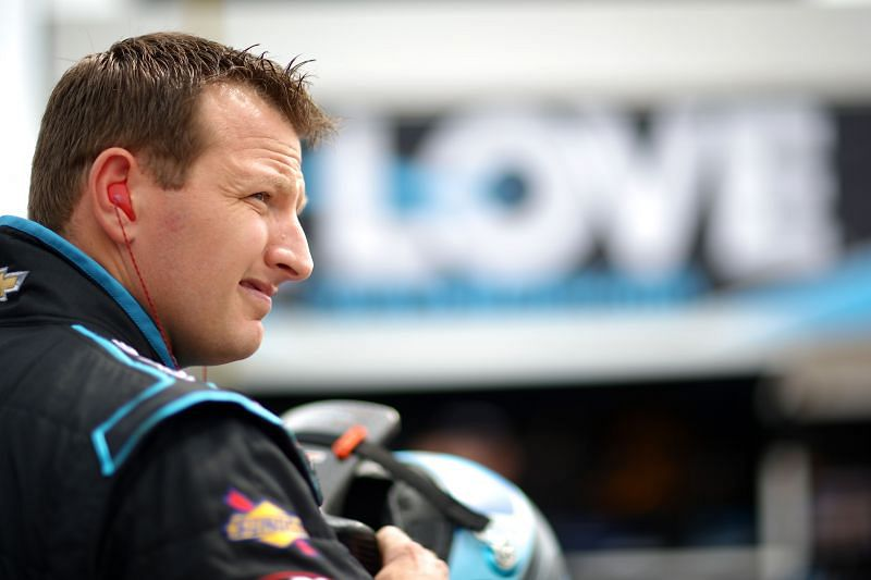 Michael McDowell at the Instacart 500 race. Photo: Chris Graythen/Getty Images