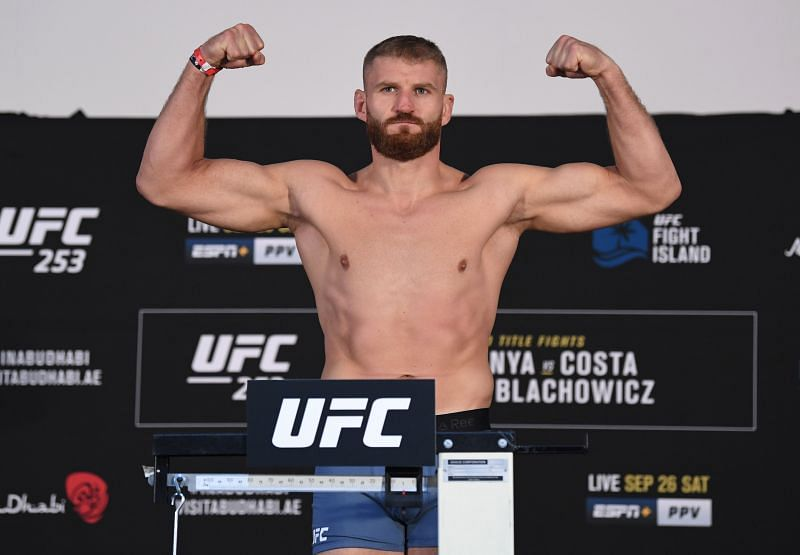 UFC Light Heavyweight Champion Jan Blachowicz