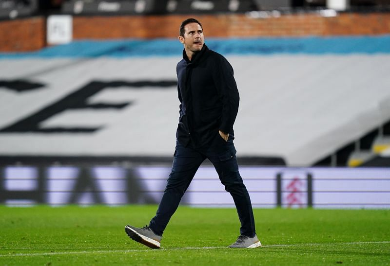 Frank Lampard was sacked by Chelsea in January