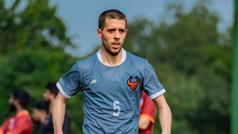 Alberto Noguera was the top provider in the FC Goa midfield (Courtesy - ISL)