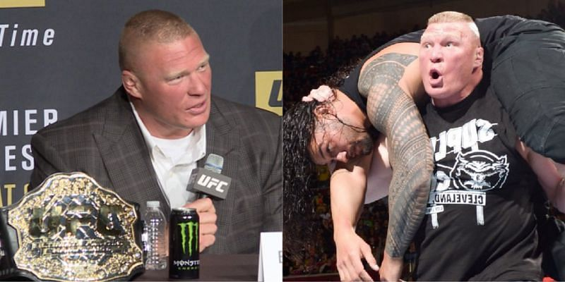 WWE ब्रॉक लैसनर