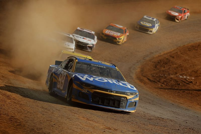 NASCAR Cup Series Food City Dirt Race Jared. Tiltman. Getty images.