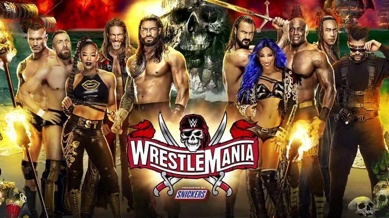 WrestleMania 37 is just around the corner