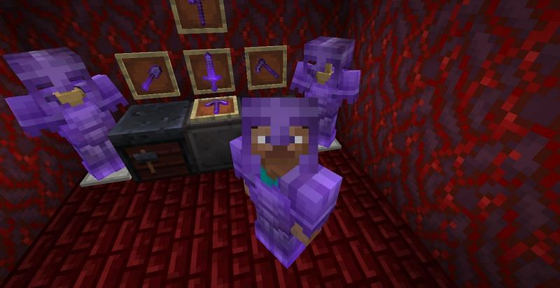 Netherite is a material that is not only the strongest but is also very rare to find in Minecraft (Image via Sportskeeda)