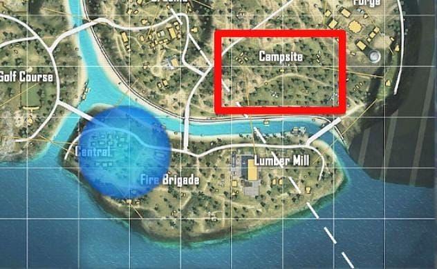 पुर्गाटोरी में Campsite (Image via Free Fire)