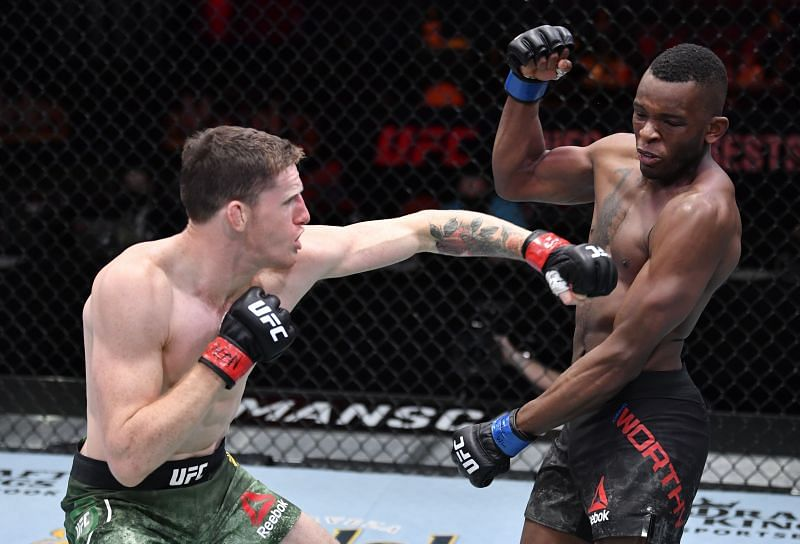 Jamie Mullarkey probably saved his UFC roster spot with his KO of Khama Worthy.