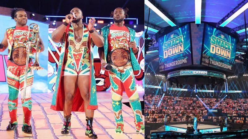 Xavier Woods, Big E, and Kofi Kingston