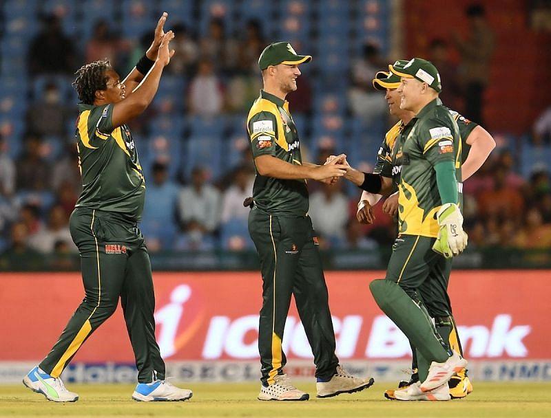 दक्षिण अफ्रीका लेजेंड्स ने रोड सेफ्टी वर्ल्ड सीरीज के सेमीफाइनल में बनाई जगह