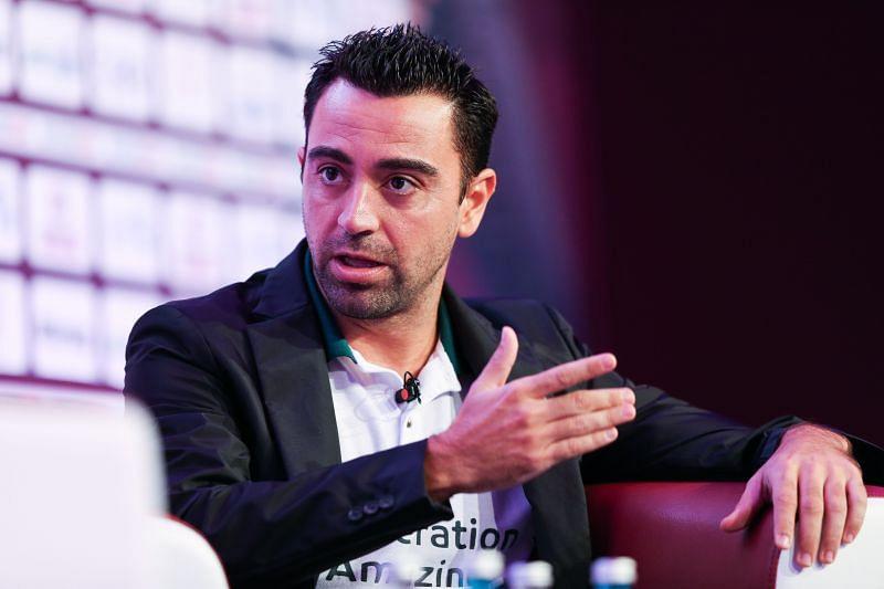 Xavi himself has been heavily linked with the Barcelona job