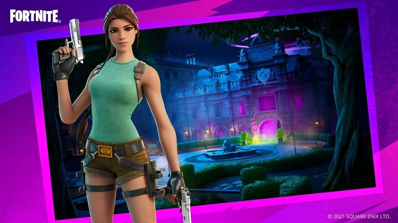 The Mystery at Croft Manor game mode in Fortnite Creative (Image via Square Enix and Epic Games)