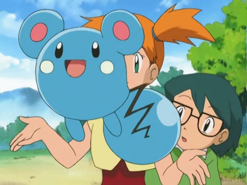 Azurill in the anime (Image via The Pokemon Company)