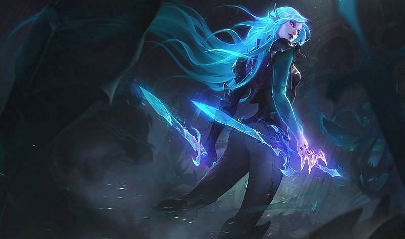 Katarina naturally has an advantage over other mid-lane mage picks in League of Legends (Image via Riot Games)