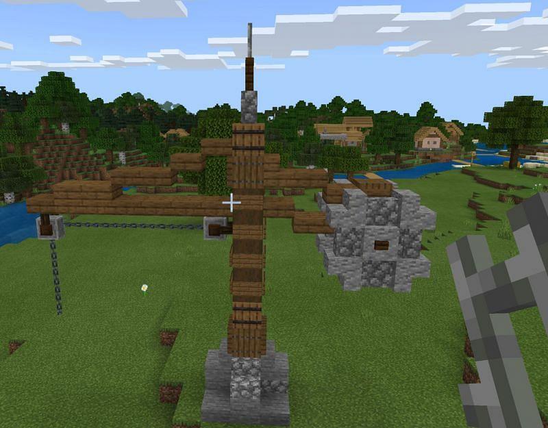 Decorations (Image via Minecraft)