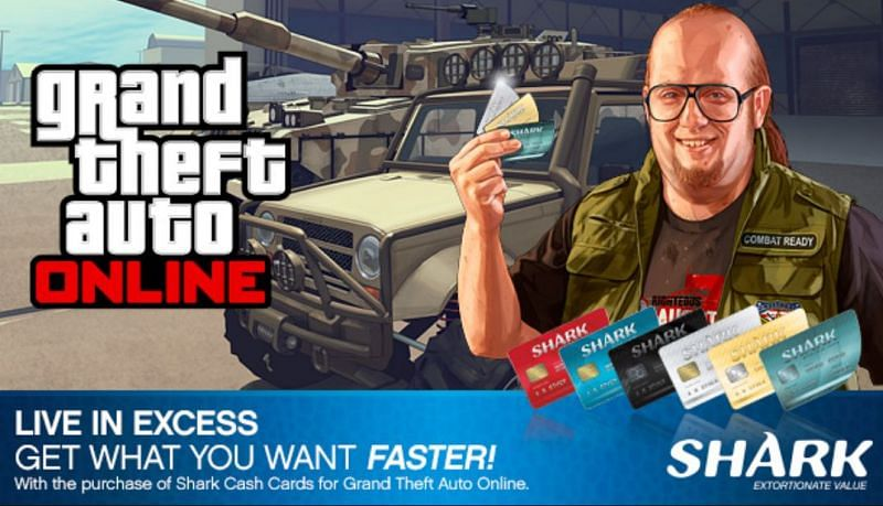 Buying Shark Cards in GTA Online will save the player a lot of time (Image via GTA 5, Steam)