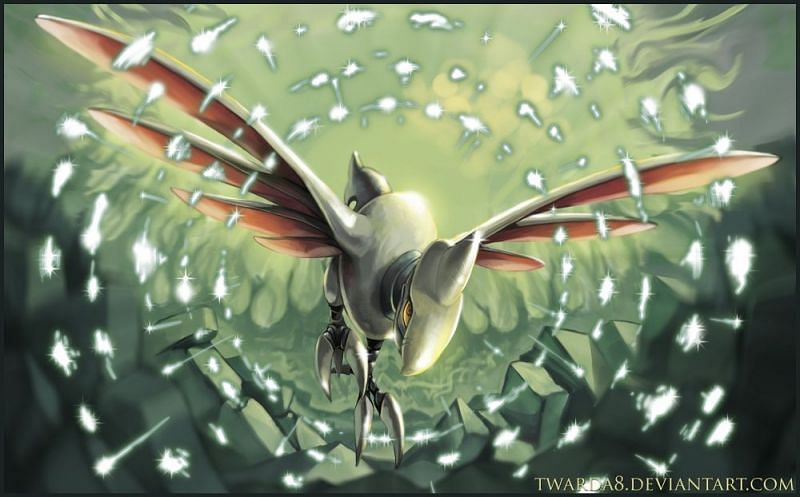 Skarmory (Image via Twarda8 on DeviantArt)
