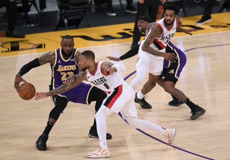 Would the Portland Trail Blazers catch up with the LA Lakers in the West?
