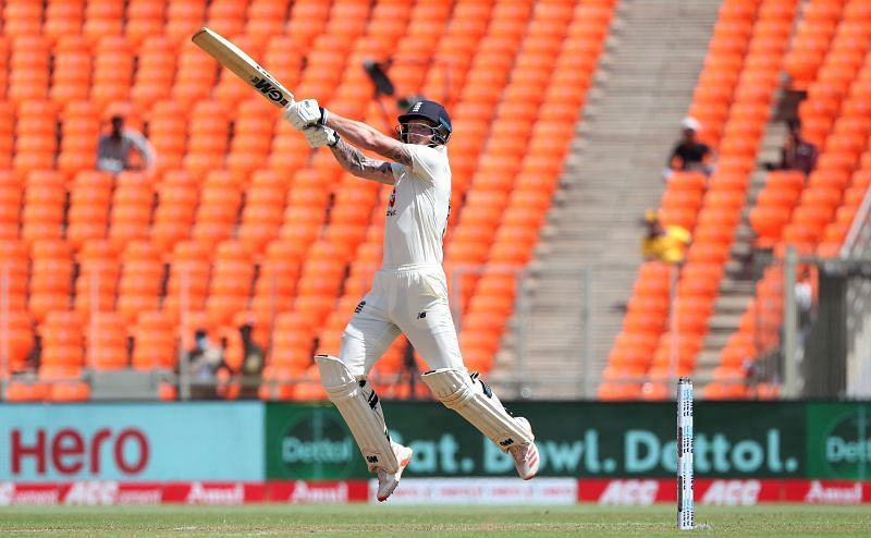 Ben Stokes scored his 24th fifty in Test cricket