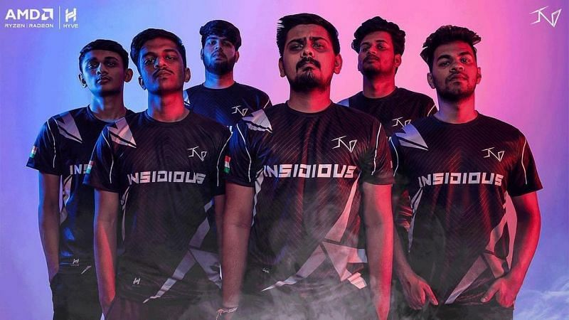 The new Insidious Esports COD Mobile roster (Image via Insidious Esports, Instagram)