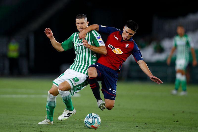 Real Betis Balompie v CA Osasuna - La Liga